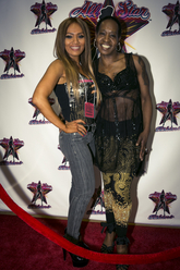 Fan with IFBB Pro Monica Long