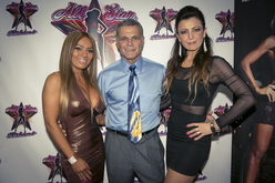 Event Promoter Ron Capodanno with All Stars Monica Long + Ela Leahy