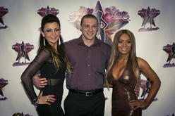 NPC Competitor Ilya Etelzon with All Stars Ela Leahy + Monica Long